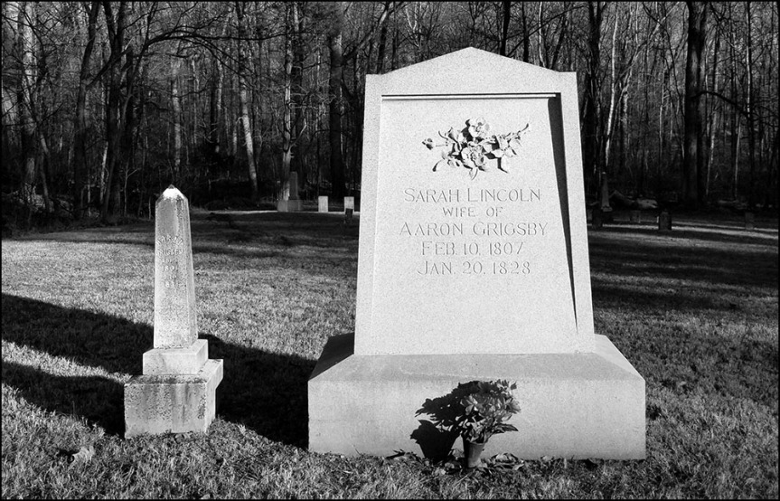 Sarah Lincoln Grigsby Grave, Little Pigeon Creek Community