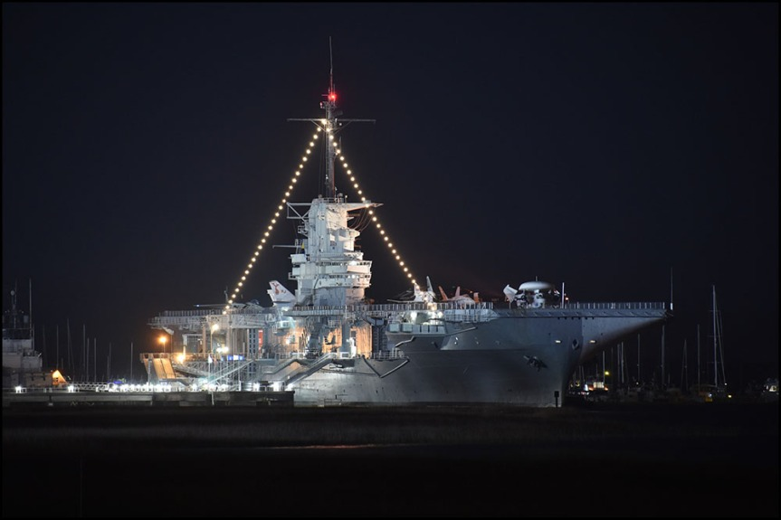 USS Yorktown at Patriots Point Naval and Maritime Museum
