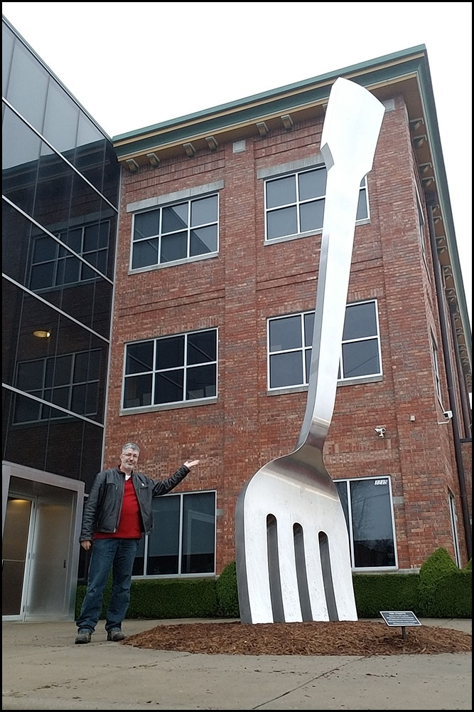 World's Largest Fork