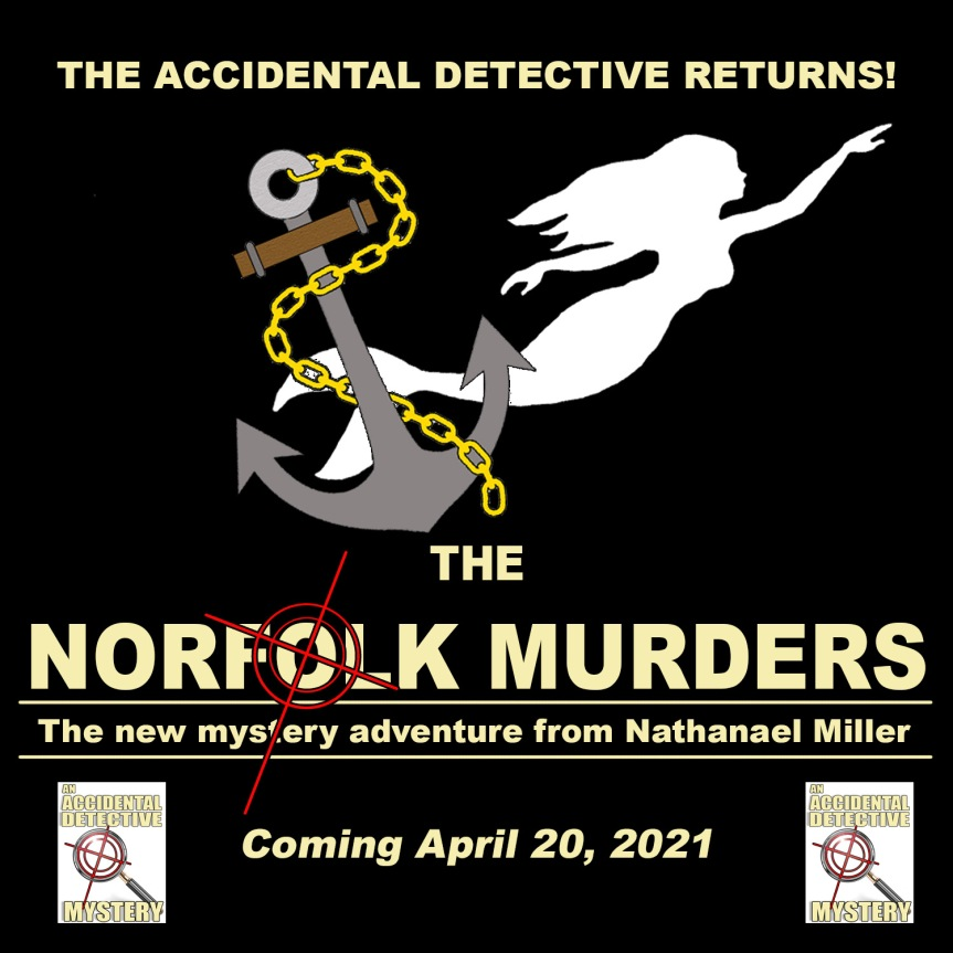 The Accidental Detective Returns this April!