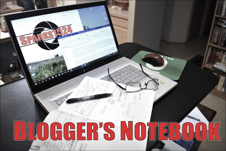 Blogger's Notebook – Going Video, Part 1