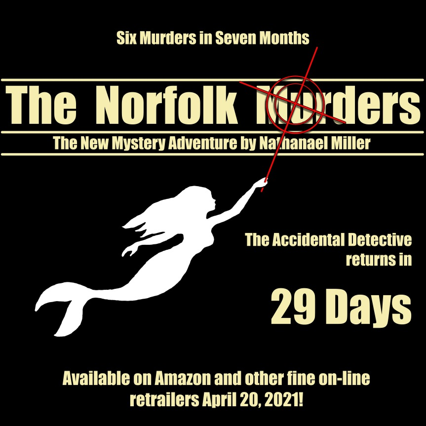 The Accidental Detective Returns in 29 Days!