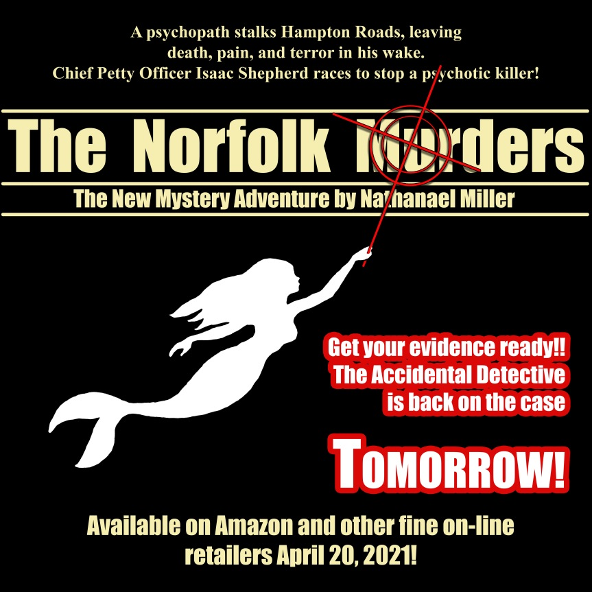 The Accidental Detective ReturnsTomorrow!