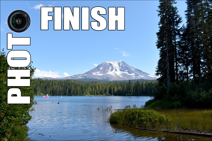 Photo Finish: Mount Adams!